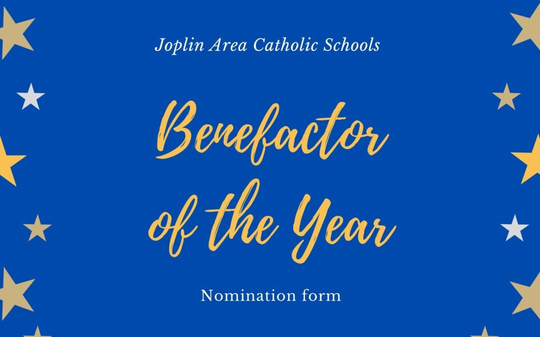 BENEFACTOR AWARD NOMINATION