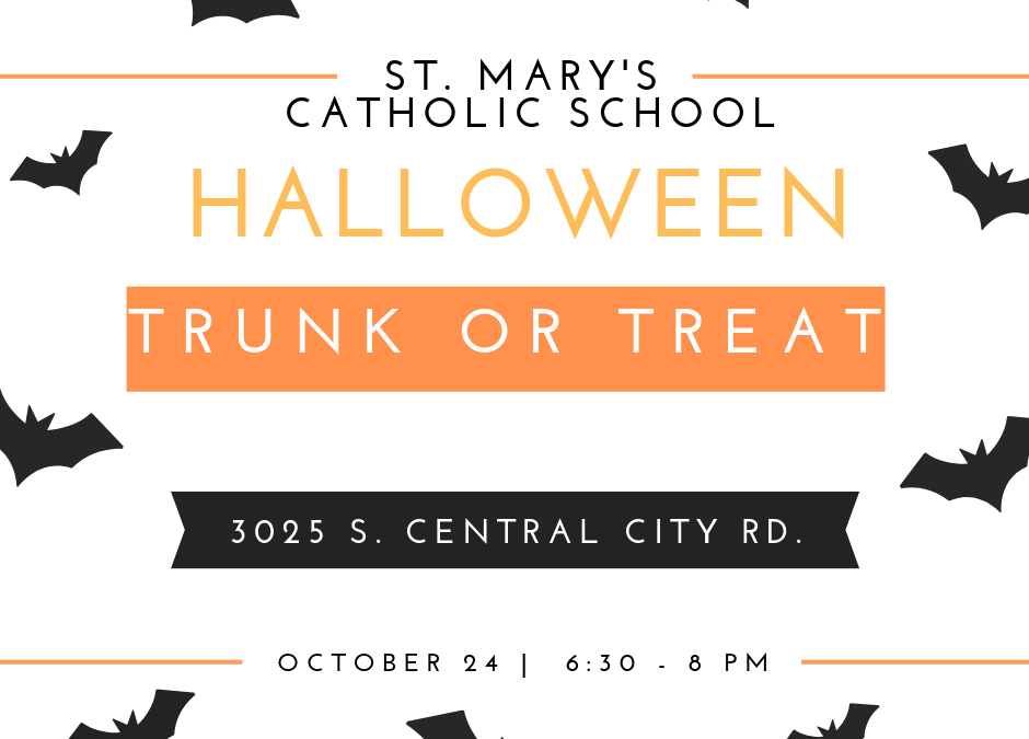 St. Mary's Trunk or Treat