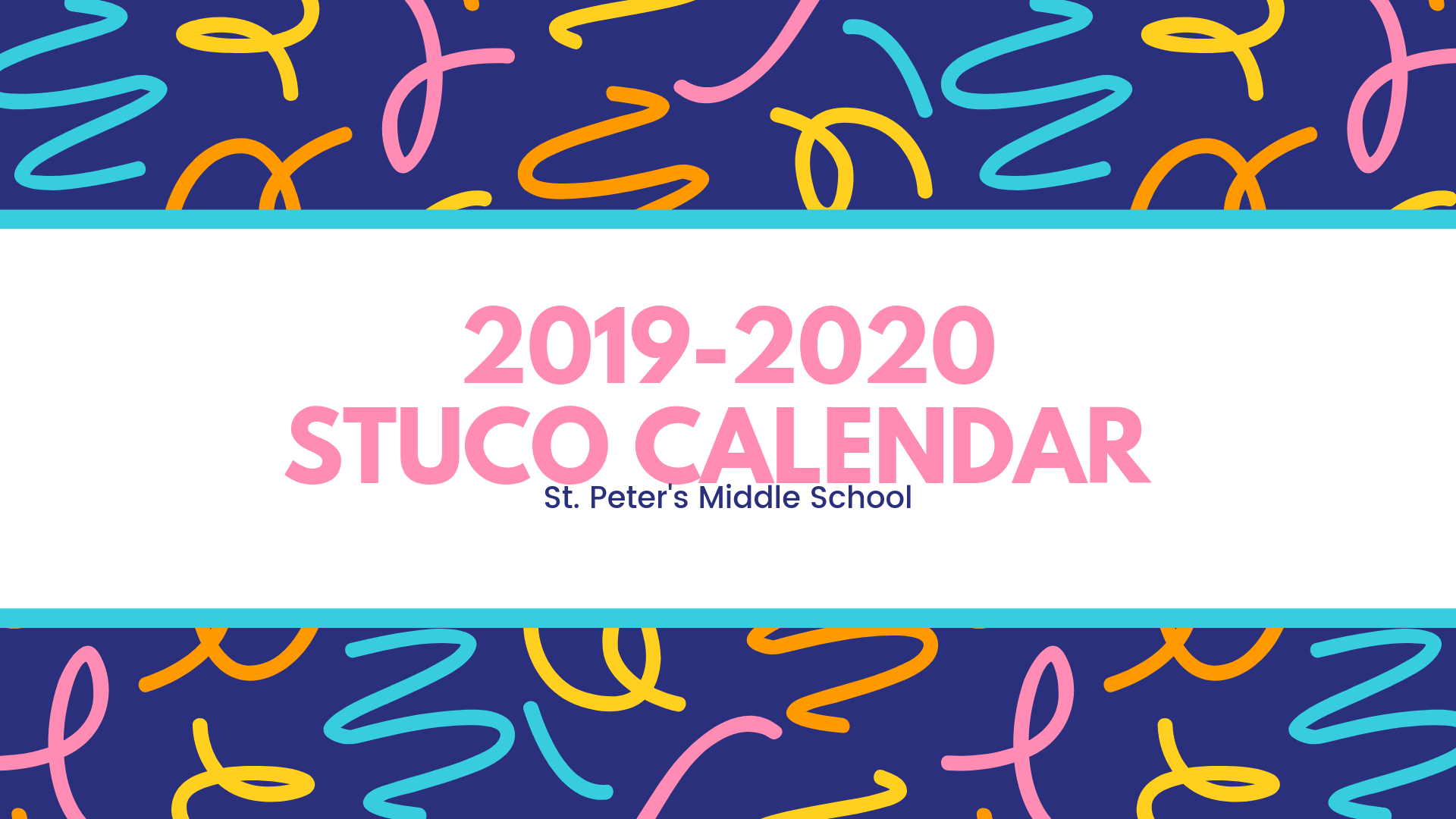St. Peter's STUCO Calendar